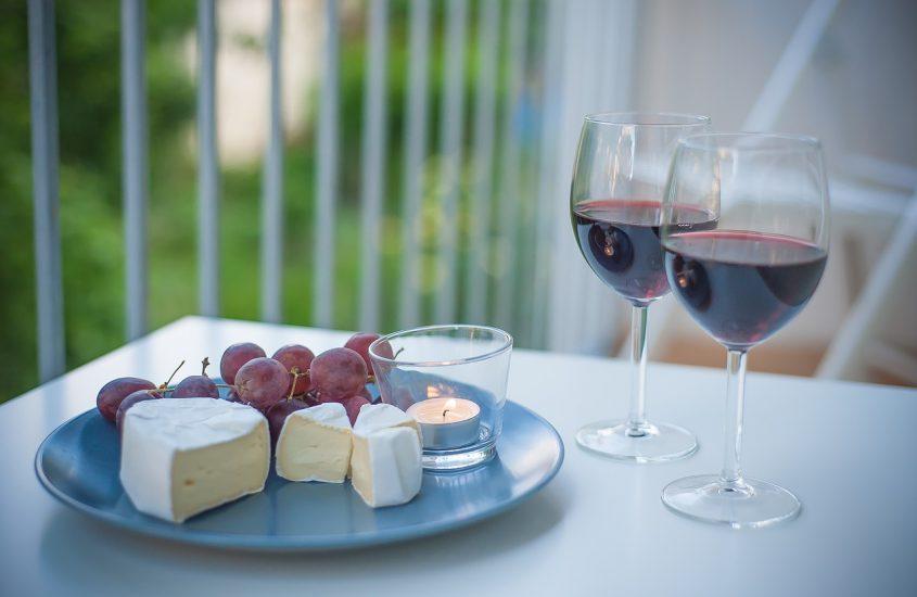 In welk glas moet de rode wijn?
